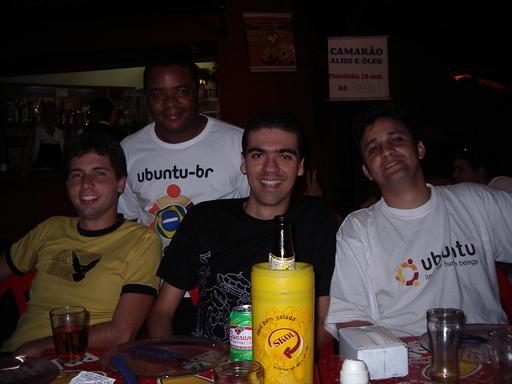 Fábio Amaral, Alex, Guilherme Jr, Fábio