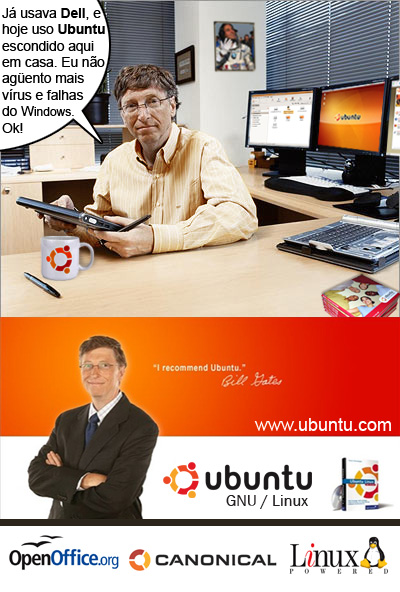 Bill Gates - Ubuntu User