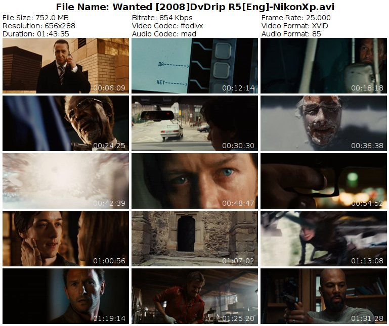 Wanted [2008]DvDrip R5[Eng]-NikonXp